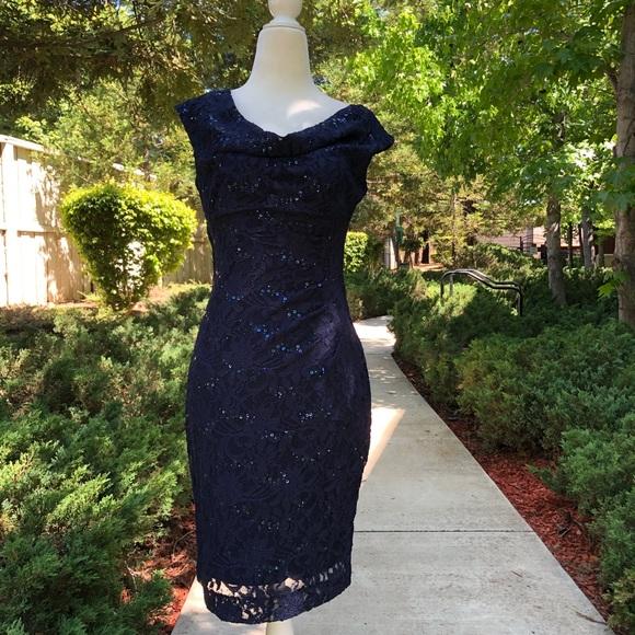 Lauren Ralph Lauren Dresses & Skirts - Lauren Ralf Lauren Lace Sequined Party Dress 4